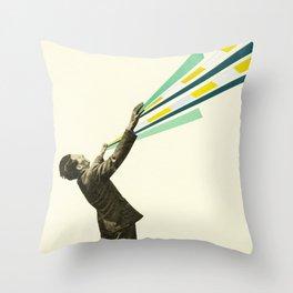 The Power of Magic Throw Pillow