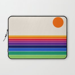 Coolie - retro 70s style throwback sunset sunrise socal cali beach vibes Laptop Sleeve