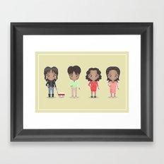 Oprah Framed Art Print