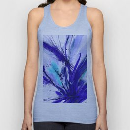 Organic Ecstasy No. 48e by Kathy Morton Stanion Unisex Tank Top
