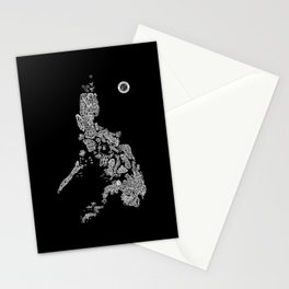 Paranormal Philippines (black) Stationery Cards