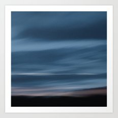 Skyscape Blue Art Print