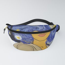 Starry fro nights Fanny Pack