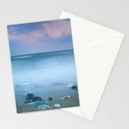 Stones in the beach Stationery Cards