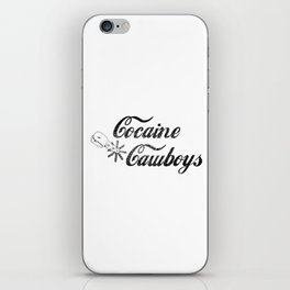 Cocaine Cawboys iPhone Skin