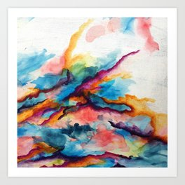 Creativity Breaching the Void Art Print
