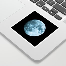 Moon - Space Photography Sticker