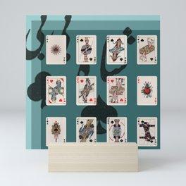 Persian Playing Cards Mini Art Print