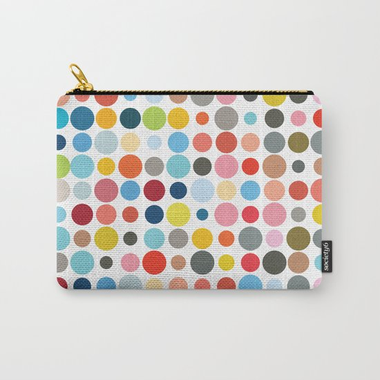 Tangled Up In Colour Carry-All Pouch
