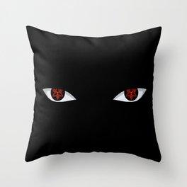 Eyes of the Avenger Throw Pillow