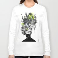 archan nair Long Sleeve T-shirts featuring Taegesschu by Archan Nair