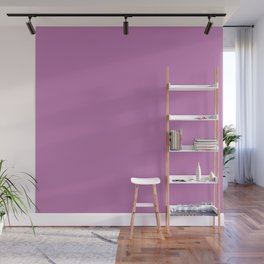 Orchid Purple Solid Color Wall Mural