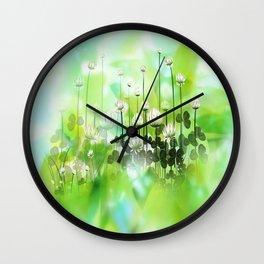 Klee - clover Wall Clock