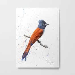 Bird of Sunsets Metal Print