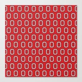 """Chevron Block """"O"""" Tile Canvas Print"""