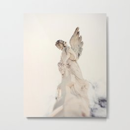 Angel no 2 - St Louis Cemetery, New Orleans Metal Print
