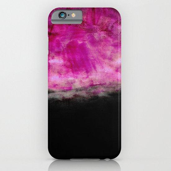 Magenta & Black iPhone & iPod Case