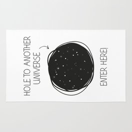 Hole to another universe Rug