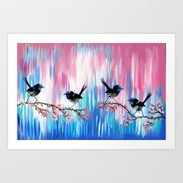 Soft Colors Art Print