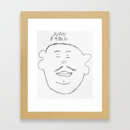 Juan Pablo Framed Art Print