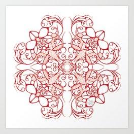 Organic Design Art Print