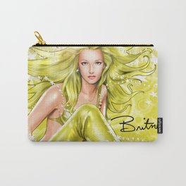 Britney Spears 2 - comic book image by Joe Phillips Carry-All Pouch