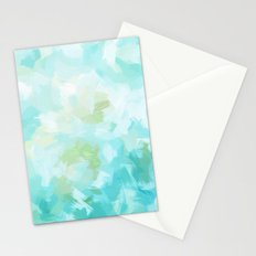 BLOSSOMS - CYAN Stationery Cards