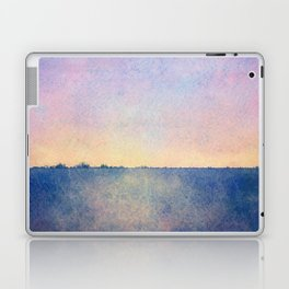 Watercolour Sunset Textural Abstract Painting Laptop & iPad Skin