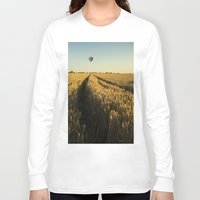 balloon Long Sleeve T-shirts featuring Balloon by Kailey Worf