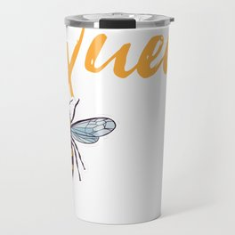 Queen Bee with Crown Travel Mug