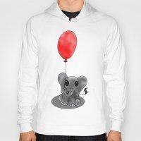ballon Hoodies featuring Look At My Ballon by Alexandra Sutherland