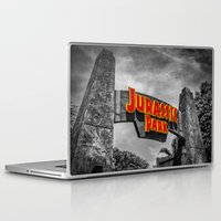jurassic park Laptop & iPad Skins featuring Jurassic Park by Mark A. Hyland (MAHPhoto)