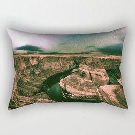 Desert Starry Night Rectangular Pillow
