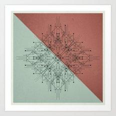 170112 / NON+ Art Print