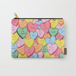 Candy Hearts Multicolour Carry-All Pouch