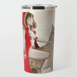 Red Moon Travel Mug