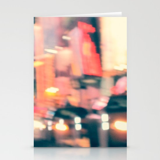 NY Lights Stationery Cards