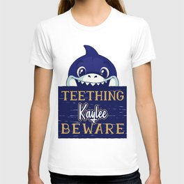 Kaylee - Funny Kids Shark - Personalized Gift Idea - Bambini T-shirt