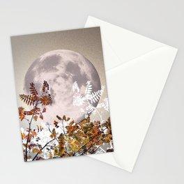 Super Moon v.1 - Autumnal - Nov 14th 2016 #buyart Stationery Cards