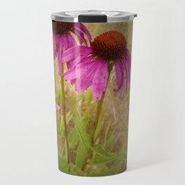 Purple Coneflowers Travel Mug