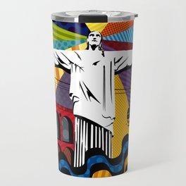 Cristo Redentor Travel Mug