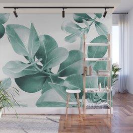 Ficus Leaves Dream #1 #green #decor #art #society6 Wall Mural