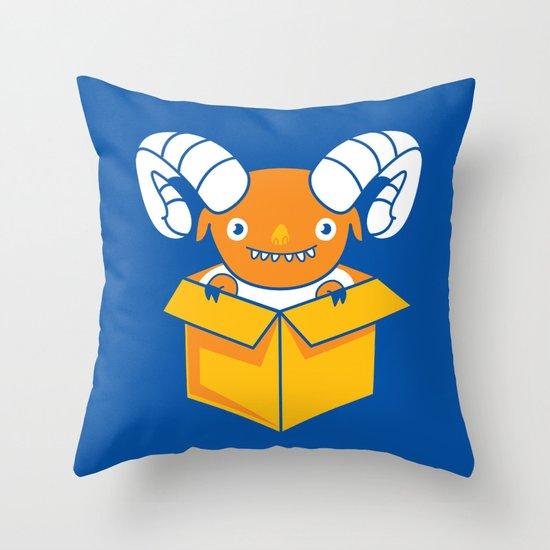 Free Sheeping! Throw Pillow