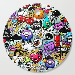 Street art Cutting Board