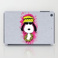 snoopy iPad Cases featuring Snoopy Dog by Mateus Quandt