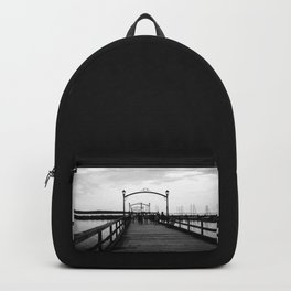 I <3 White Rock (BC) Canada - Colorful Pier Backpack