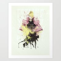 2ne1 Art Prints featuring 2NE1 - CL by Margot Park