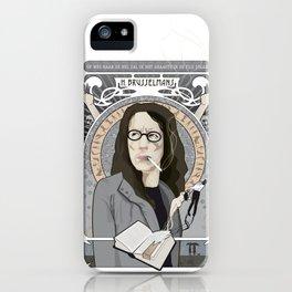 Brusselmans iPhone Case