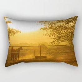 Morning In Canutillo Rectangular Pillow
