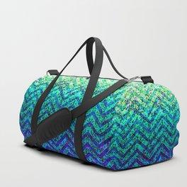 Zig Zag Sparkley Texture G230 Duffle Bag